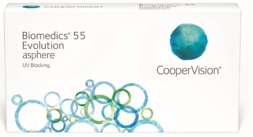 Купить BIOMEDICS 55 EVOLUTION КОНТАКТНЫЕ ЛИНЗЫ ПЛАНОВОЙ ЗАМЕНЫ /-1,00/ N6 цена