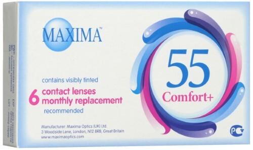 Купить MAXIMA 55 COMFORT + КОНТАКТНЫЕ ЛИНЗЫ ПЛАНОВОЙ ЗАМЕНЫ /-5,00/ N6 цена