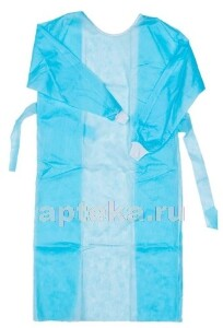 Купить Халат хирургический новисет одноразовый стерильный размер 2/52-54/ цена