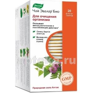 Купить Чай эвалар био д/очищения организма цена
