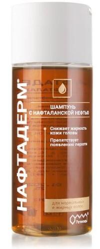 Купить Нафтадерм шампунь с нафталанской нефтью 150мл цена