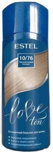 Купить Love ton оттеночный бальзам для волос тон 10/76 перламутровый блондин 150мл цена