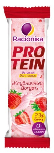 Купить Protein батончик со вкусом клубничный йогурт 45,0 цена