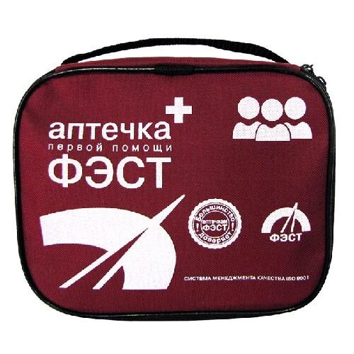 Аптечка первой помощи фэст/работникам/сумка 0370/1