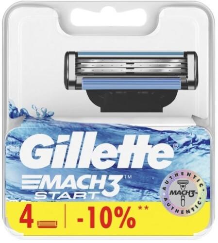 Купить Mach3 start сменные кассеты для бритья mach3 start n4 цена