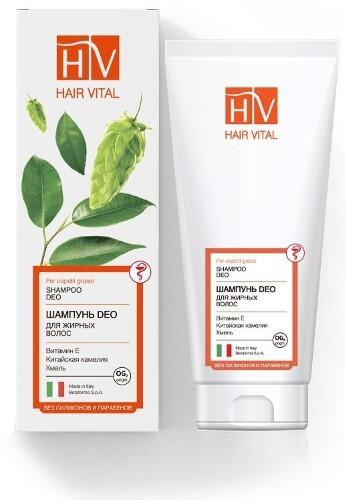 Купить Deo шампунь для жирных волос 200мл цена