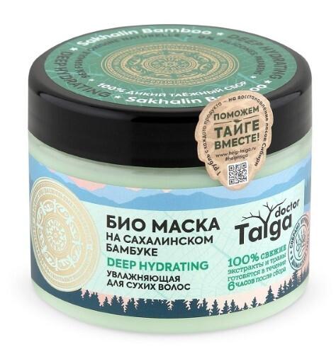 Купить Doctor taiga маска био увлажняющий для сухих волос 300мл цена