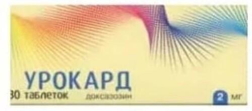 Купить УРОКАРД 0,002 N30 ТАБЛ цена