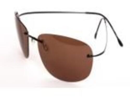 Очки поляризационные унисекс коричневая линза/cf503