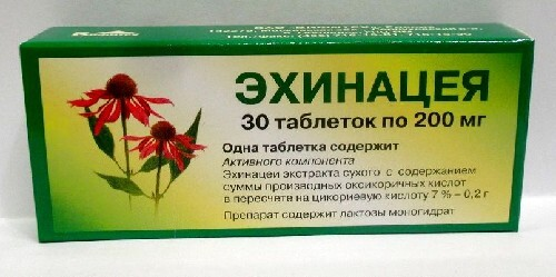 Купить ЭХИНАЦЕЯ 0,2 N30 ТАБЛ /ВИФИТЕХ/ цена