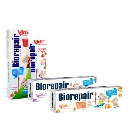 Купить Набор biorepair из 3-х детских зубных паст цена