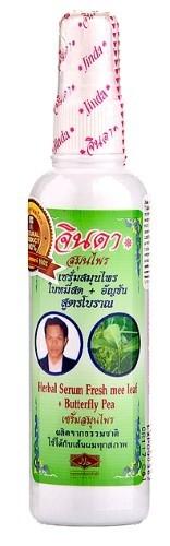 Купить Травяная сыворотка для волос с мотыльковым горошком 120мл цена