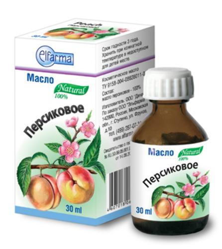 Купить Масло косметическое персиковое 30мл инд/уп/ цена