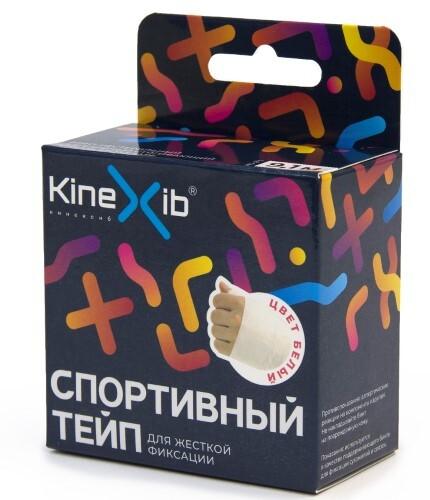 Купить Бинт нестерильный адгезивный стягивающий kinexib sport tape белый 3,8смx9,1м цена