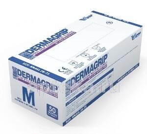 Купить Перчатки смотровые dermagrip high risk неопудренные м n25 пар цена