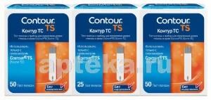 Купить Tc тест-полоски контур тс n50х2+тест-полоски контур тс n25 цена