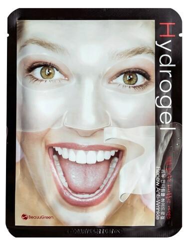 Купить Маска для лица антивозрастная гидрогелевая renew anti-wrinkle hydrogel mask n1 цена
