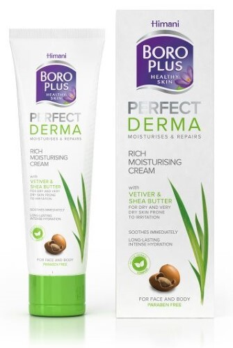 Купить Боро плюс perfect derma интенсивный увлажняющий крем для лица и тела 80мл цена