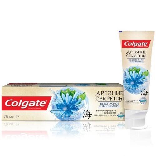 Купить Древние секреты безопасное отбеливание зубная паста 75мл цена