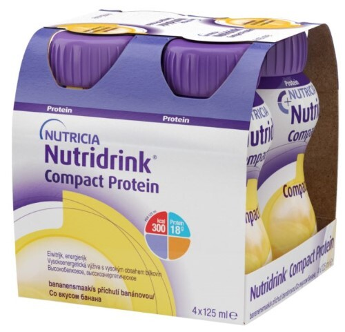 Купить Компакт протеин банан смесь 125мл n4 цена