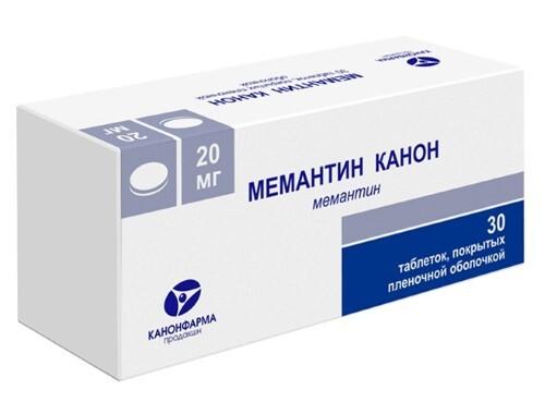 Купить МЕМАНТИН КАНОН 0,02 N30 ТАБЛ П/ПЛЕН/ОБОЛОЧ цена