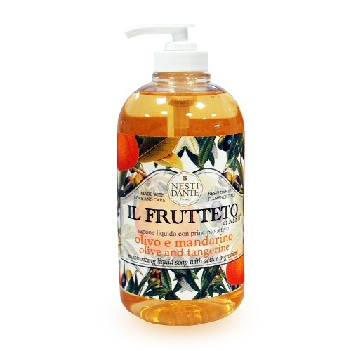 Купить Il frutteto жидкое мыло оливковое масло и мандарин 500мл цена