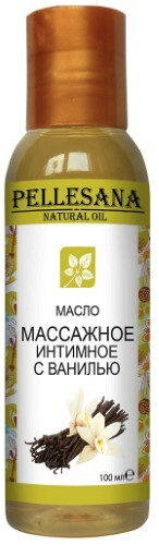 Купить Масло массажное интимное с ванилью 100мл цена
