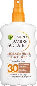 Ambre solaire солнцезащитный спрей идеальный загар spf 30 200мл