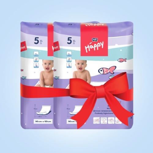 Купить Набор bella baby happy пеленка гигиен 60х90см д/дет n5 из 2-х уп по специальной цене цена