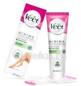 Купить Minima крем для депиляции для сухой кожи 100мл цена