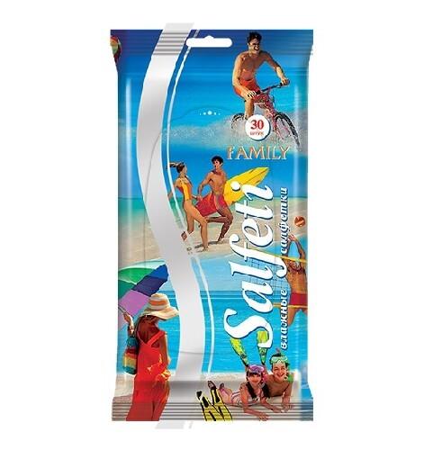 Купить Family салфетки влажные очищающие n30 цена
