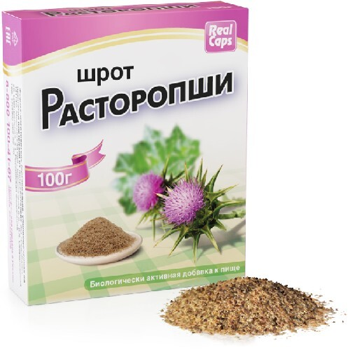 Купить РАСТОРОПША ШРОТ 100,0 /РЕАЛКАПС/ цена