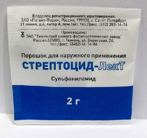 Купить Стрептоцид-лект цена