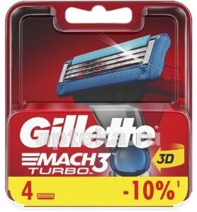Купить Mach 3 turbo сменные кассеты для бритья n4 цена