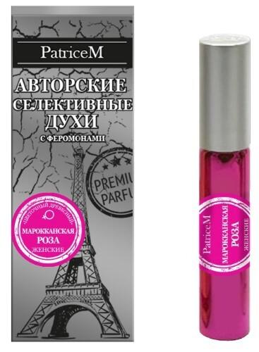 Купить Sexy life духи с феромонами женские марокканская роза 10мл цена