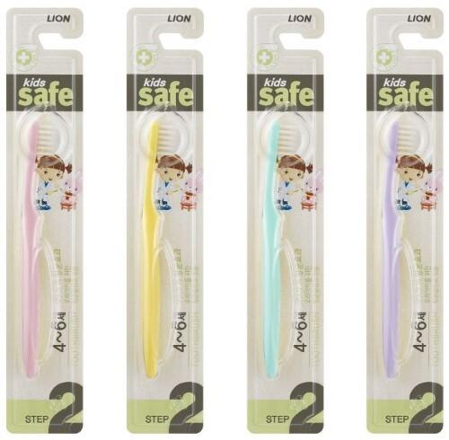 Купить Зубная щетка kids safe детская с ионами серебра /шаг 2 цена
