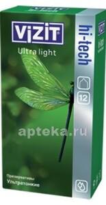 Купить Hi-tech презерватив ultra light ультратонкие n12 цена