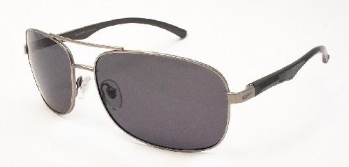 Купить Очки поляризационные мужские металл серая линза/сf8505 цена