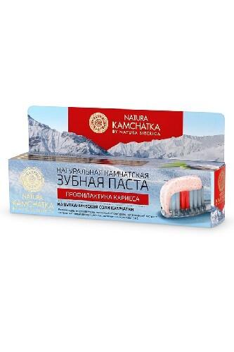 Купить Натуральная камчатская зубная паста профилактика кариеса 100мл цена