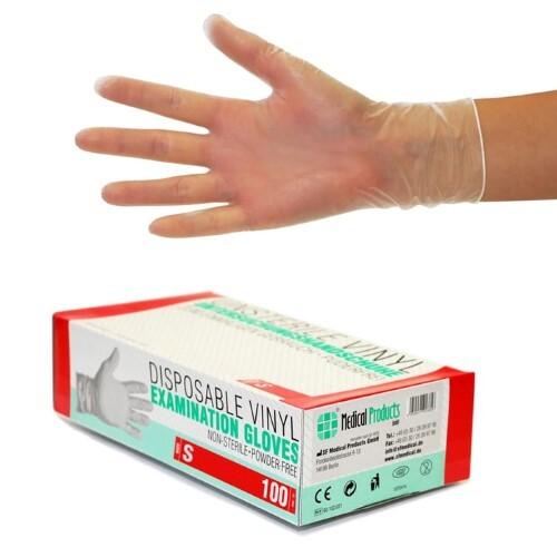Купить Перчатки диагностические sf gloves виниловые нестерильные неопудренные n50 пар m цена