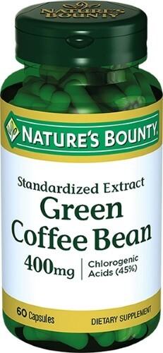 Купить Зеленые кофейные зерна 400мг цена