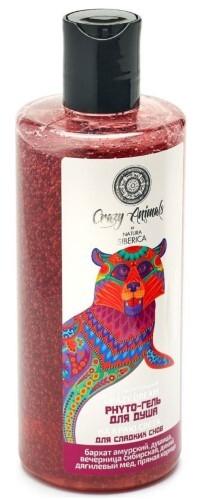 Купить Crazy animals phyto-гель для душа для сладких снов на краю света 300мл цена