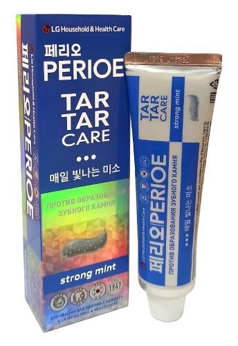 Купить Зубная паста tar tar care strong mint сильная мята против зубного камня 120,0 цена
