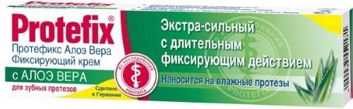 ФИКСИРУЮЩИЙ КРЕМ ЭКСТРА-СИЛЬНЫЙ АЛОЭ ВЕРА 40,0