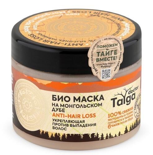 Купить Doctor taiga маска био укрепляющий против выпадения волос 300мл цена