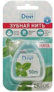 Зубная нить мята 50м