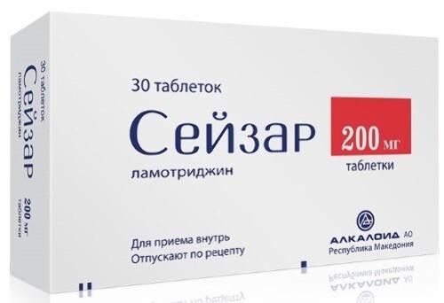 СЕЙЗАР 0,2 N30 ТАБЛ