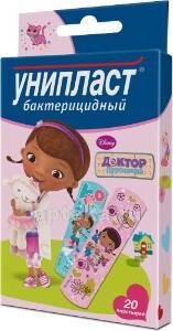 Купить Лейкопластырь унипласт бактерицидный детский цена