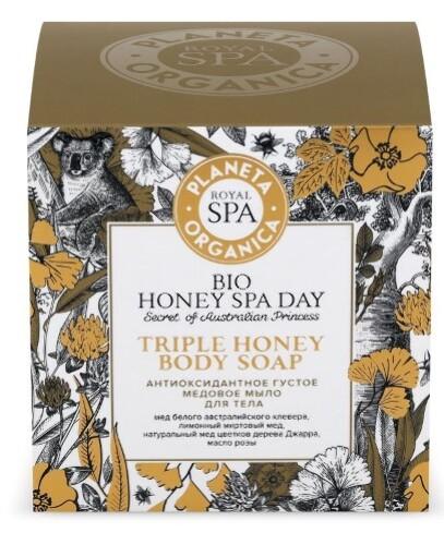 Купить Royal spa антиоксидантное густое медовое мыло для тела 300мл цена