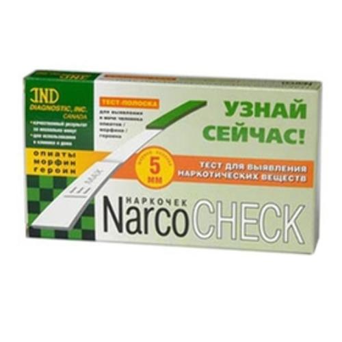 Купить Тест-полоска narcocheck опиаты-морфин-героин цена